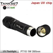 Ультрафиолетовый фонарь Tank007 PT10 UV Flashlight 395 1W