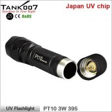 Ультрафиолетовый фонарь Tank007 PT10 UV Flashlight 395 3W