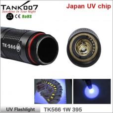 Ультрафиолетовый фонарь Tank007 TK566 395 1W UV