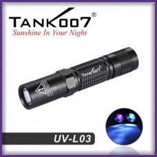 Ультрафиолетовый фонарь Tank007 UV L03 365 nm 3W/5W