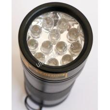 Ультрафиолетовый фонарь на 12 светодиодов 395нм