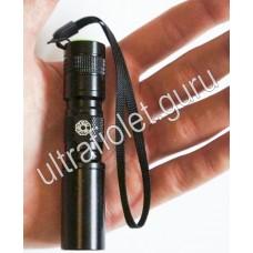 Компактный УФ фонарик UV-Tech 3WA2 395нм