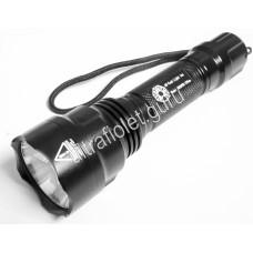 Дальнобойный ультрафиолетовый фонарь UV-Tech 3WX2 Pro 375нм