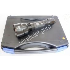 Дальнобойный ультрафиолетовый фонарь UV-Tech 3WX2 Pro 395нм