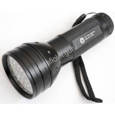 Ультрафиолетовый фонарь на 51 светодиод 395нм