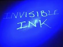 Невидимые надписи