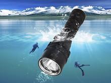 Водонепроницаемые УФ фонари для использования под водой на глубине от 6 метров